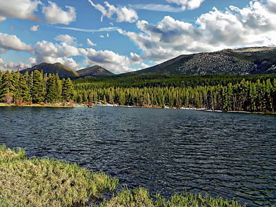 Katharine Hepburn - Rocky Mountains National Park by Anthony Dezenzio