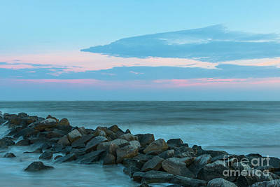 Photograph - Rocky Shores Sunrise by Dale Powell
