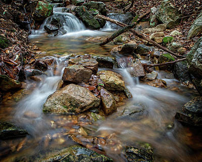 Photograph - Rocky Stream by Alan Raasch