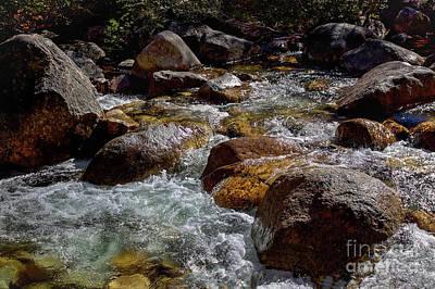 Photograph - Rocky Stream by David Harwood