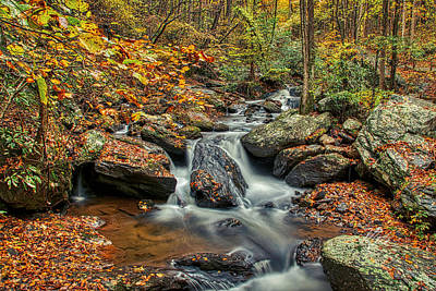Photograph - Rocky Stream by Meta Gatschenberger