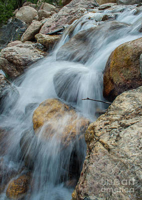 Photograph - Rocky Stream by Tony Baca