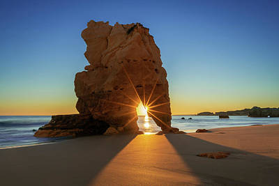 Photograph - Rocky Sunburst by Michael Blanchette