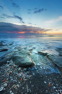 Photograph - Rocky Sunrise by Debra and Dave Vanderlaan