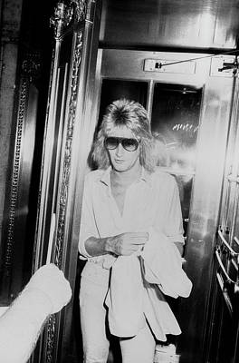Photograph - Rod Stewart by Art Zelin