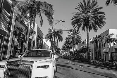Photograph - Rodeo Drive Roles Royce  by John McGraw