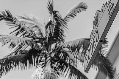 Photograph - Rodeo Drive Sign  by John McGraw
