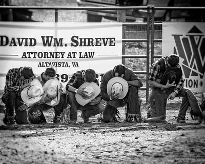 Photograph - Rodeo Prayer by Alan Raasch