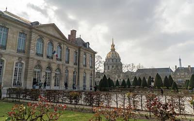 Thomas Kinkade - Rodin Museum by Jared Windler