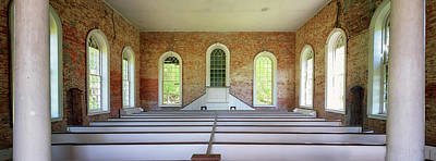 Photograph - Rodney Presbyterian Church Interior by Susan Rissi Tregoning