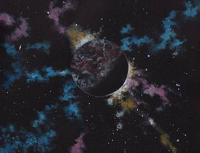 Fantasy Painting - Rogue Planet by Michael Zawacki