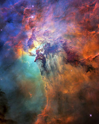 Photograph - Roiling Heart Of Vast Stellar Nursery by Adam Romanowicz