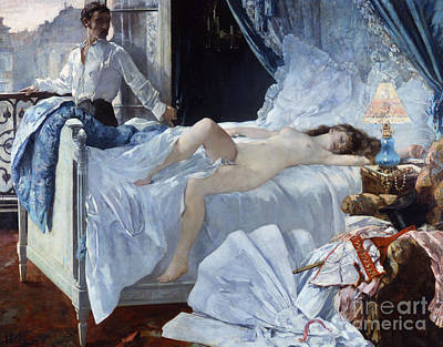 Painting - Rolla, Painting By Henri Gervex by Henri Gervex