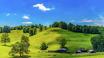 Photograph - Rolling Hills Of Wv by Jonny D
