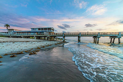 Photograph - Rolling In Along Lake Worth Beach by Debra and Dave Vanderlaan