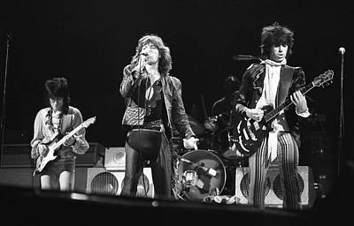 Photograph - Rolling Stones On Stage by Express