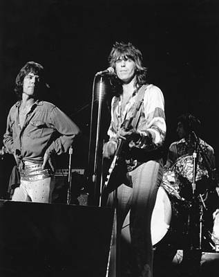 Photograph - Rolling Stones Performing In Sf by Larry Hulst