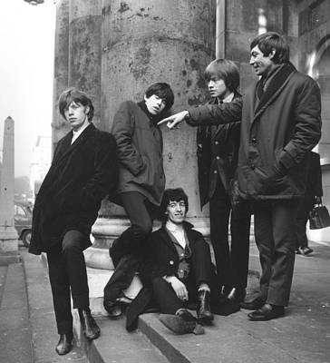 Photograph - Rolling Stones by Terry Disney