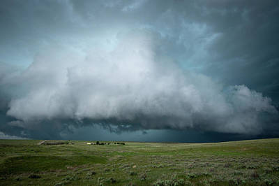 Photograph - Rolling Storm by Wesley Aston