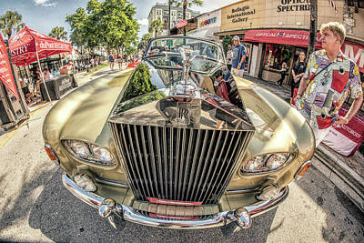 Photograph - Rolls Royce by Steven Greenbaum