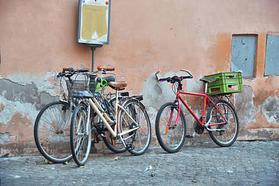 Photograph - Roma Biciclettas by JAMART Photography