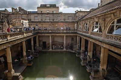 Photograph - Roman Baths In Bath England  by John McGraw