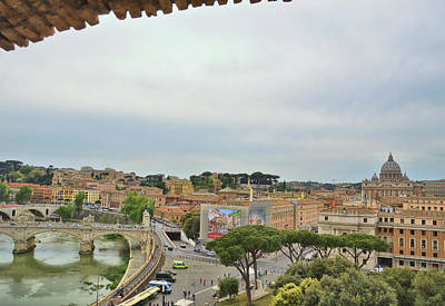 Photograph - Roman Panoramic by JAMART Photography