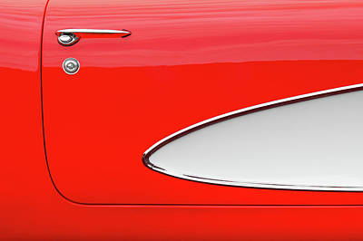 Photograph - Roman Red Corvette by Todd Klassy