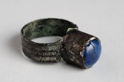 Pop Art -  Roman silver ring by Carlos Mora