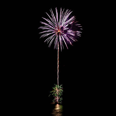 Fireworks Photograph - Romancing In The Dark Collection Set 04 by Az Jackson