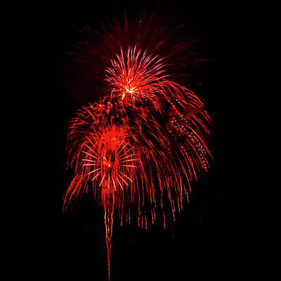 Fireworks Photograph - Romancing In The Dark Collection Set 07 by Az Jackson