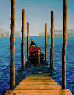Painting - Romantic Solitude by Renee Logan