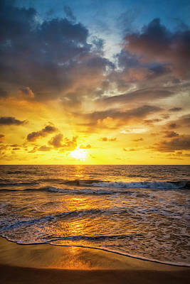 Photograph - Romantic Sunset by Cinoby