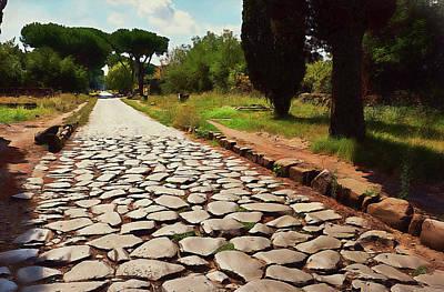 Painting - Rome, Appian Way - 09 by Andrea Mazzocchetti
