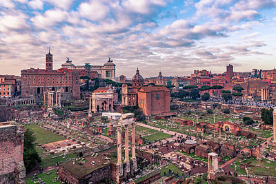 Photograph - Rome, Past And Present by ProPeak Photography