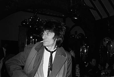 Photograph - Ron Wood by Art Zelin