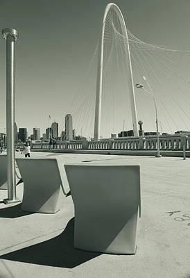 Photograph - Ronald Kirk Bridge by Dan Sproul