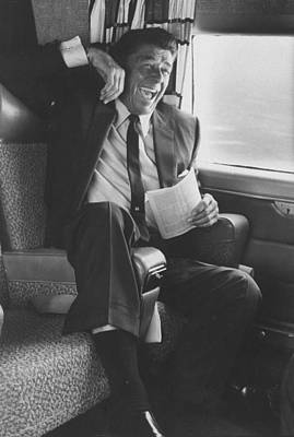 Human Interest Photograph - Ronald W. Reagan by John Loengard