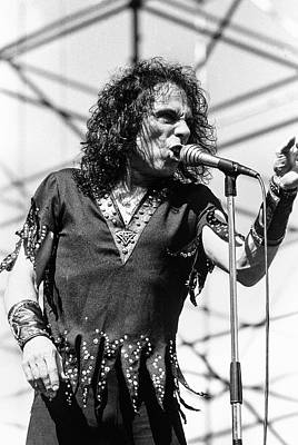 Sean Rights Managed Images - Ronnie James Dio 86 #2 Royalty-Free Image by Chris Deutsch