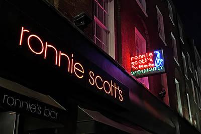 Photograph - Ronnie Scotts Jazz Club Soho by Gill Billington