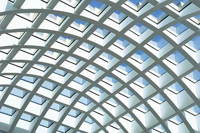Photograph - Roof Of A Shopping Center, Berlin by Juergen Stumpe / Look-foto
