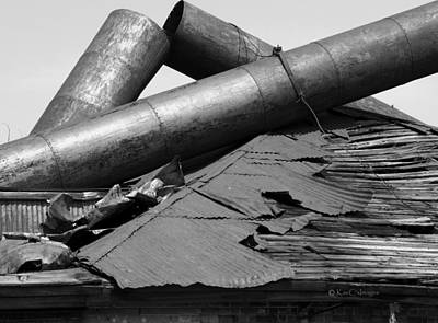 Photograph - Roof Rubble by Kae Cheatham