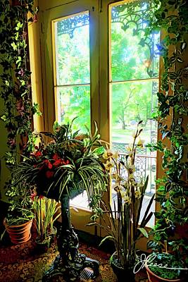 Art Print featuring the photograph Room With A View by Joan Reese