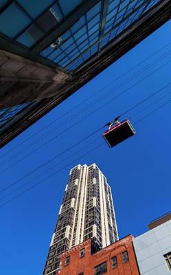 Photograph - Roosevelt Island Tram And Buildings by Robert Ullmann
