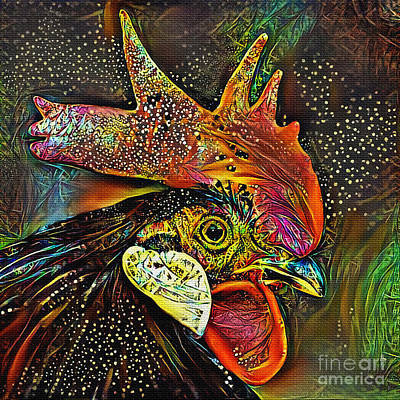 Photograph - Rooster Art By Kaye Menner by Kaye Menner