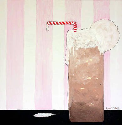 Painting - Root Beer Float by Bonnie Owen