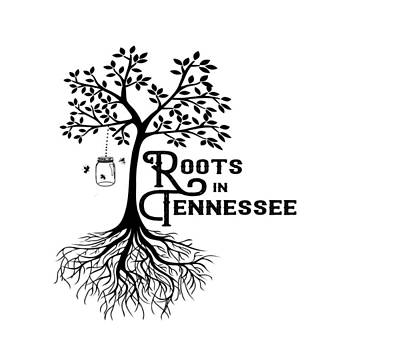 Digital Art - Roots In Tn by Heather Applegate
