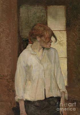 Painting - Rosa La Rouge by Henri de Toulouse-Lautrec