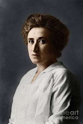 Photograph - Rosa Luxemburg by Granger