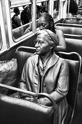 Photograph - Rosa Parks - A Brave Woman by Allen Beatty